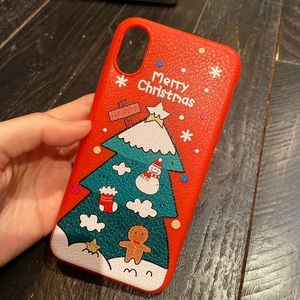 merry christmas Christmas tree phone case new